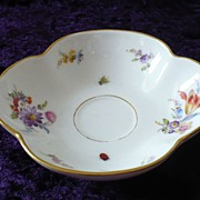 SALE Meissen Fine German Porcelain Ladies' Pin Tray