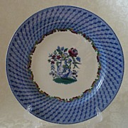 REDUCED Copeland Spode Romantic Staffordshire Portland Vase Plate - 1906