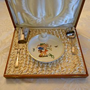 SALE Child's Dinner Set in Presentation Box