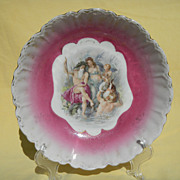 SALE Poseidon & Friends German China Bowl
