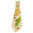 Vintage Handpainted Silk Tie: Autumn Leaves