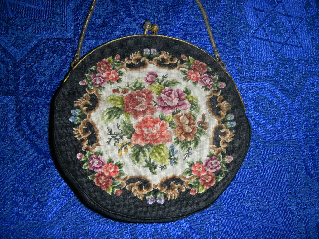 Petit-point Purse