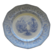 "English Transferware ""Ontario Lake Scenery"" Plate"