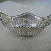 Wallace Sterling Reticulated Nut Cup
