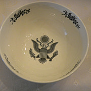 "Wedgwood & Barlaston Transferware ""Federal City"" Bowl"