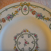 "Set of 5 Minton China ""Ivanhoe"" Luncheon Plates"