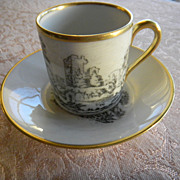 German Porcelain Demitasse