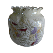 English Porcelain Lustre Urn/Vase