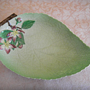 "Large Carltonware ""Apple Blossom"" Botanical Dish"