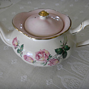 English Cottage Rose Tea Pot