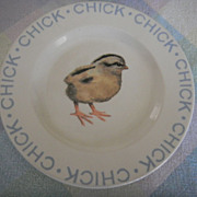Child's Chicken Plate