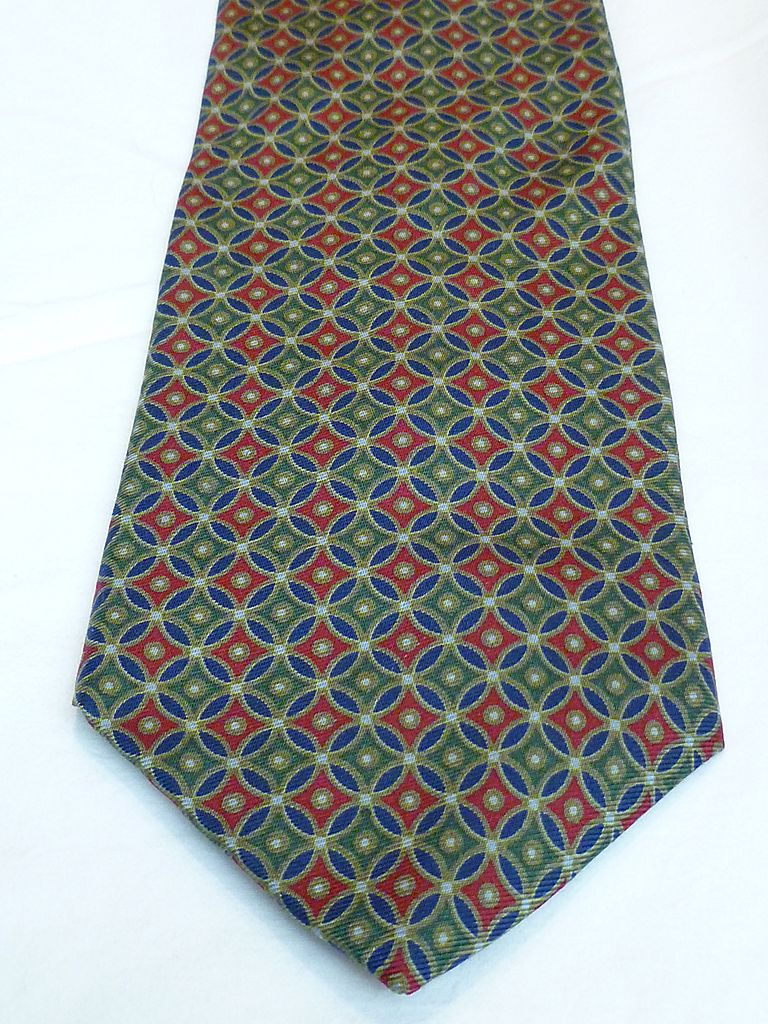 Silk Necktie Barneys New York