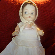 Vintage 1920s Composition Carnival Doll Kewpie Style