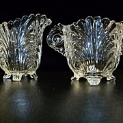 Cambridge Glass Co. Caprice  Sugar and Creamer Set