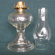 Early 1900's One Piece Oil Lamp