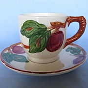 Franciscan Apple Demi Cup & Saucer