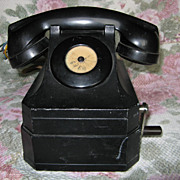 Stromberg-Carlson Magneto Hand Crank Telephone