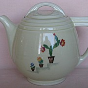 Hall China Viking Cactus Coffee Pot