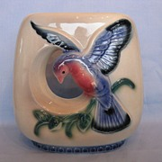 Royal Copley Bird In Flight Open Vase Planter