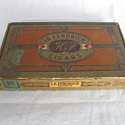 La Fendrich Wooden Cigar Box
