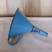 Graniteware Blue Funnel