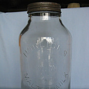 Horlick's Malted Milk Vintage Jar
