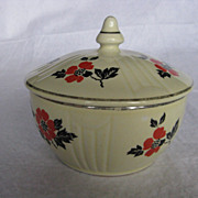 Hall China Red Poppy &quot;Radiance&quot; Drip Jar and Cover