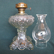 Princess Feather Oil Lamp