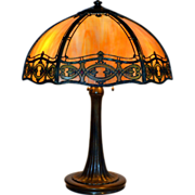 Handel Tecoma Slag Glass Table Lamp