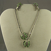 Stunning 1950's DUANE Rhinestone Parure