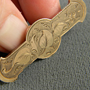 Charming Gold Filled Pin Circa 1900