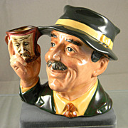 Royal Doulton &quot;The Collector&quot;  Large Character Jug  1987