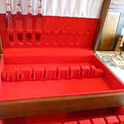 Birks cutlery box for 10 place settings