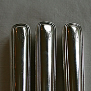 Birks sterling silver SAXON 3 luncheon knives