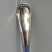 Early GORHAM sterling silver sophisticated BEAD  ladle