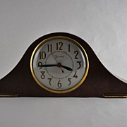 Sessions Model: 2W Self Starting Electric Camel Back Mantel Clock