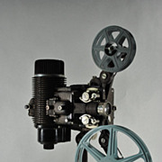 SOLD Vintage Bell and Howell 16mm Filmo-Master model:57-R Silent Projector