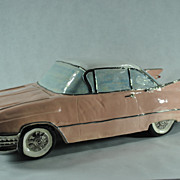REDUCED 1959 Cadillac Coupe De Ville Ceramic Model Car Signed and Hand Made By Artist ...