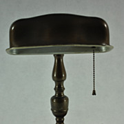 1930's/1940's Colonial Premier Co. Banker Style Desk Lamp