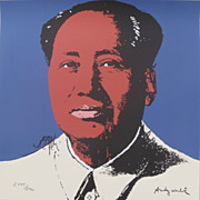 SOLD Andy WARHOL lithograph MAO signed numbered 2175/2400