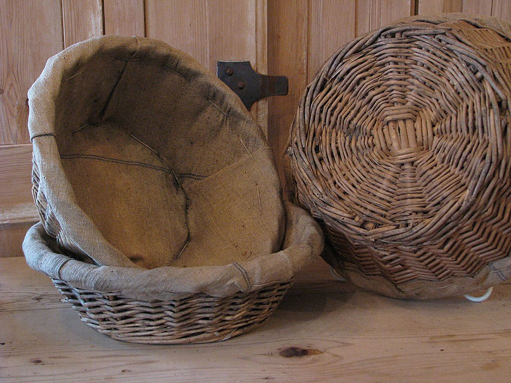 Vintage French Boulangerie Bread Basket