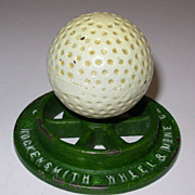 Vintage Hockensmith Wheel & Mine Car Co Golf Ball Paper Waight