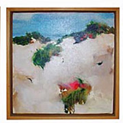 Oil Paintings Mary Rolland Hampton Dune Series of 3