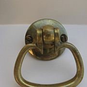 Vintage Solid Brass Door Pull