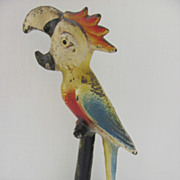 Cast Iron Parrot Bottle Opener by John Wright