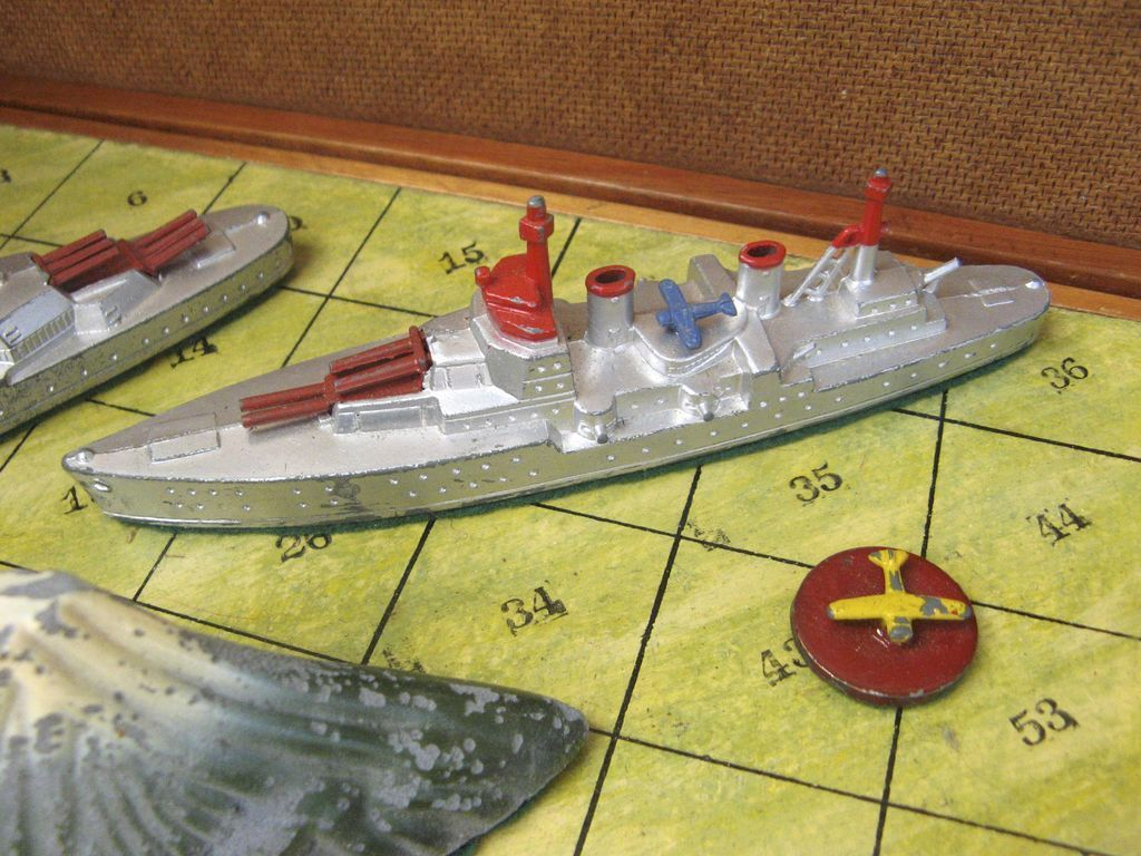 Battleship Game Pieces Vintage Battleship Game