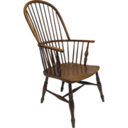 English Ash and Yewwood Windsor Chair