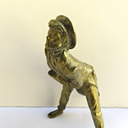 Bronze Figure of English Man Clock Finial