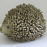 Large Pottery Hedgehog English
