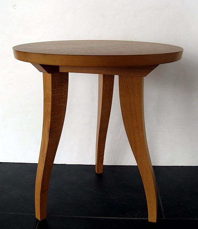 Thomas Lavin Round Side Table by Philippe Hurel